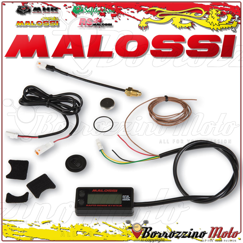Malossi Rapid Sense System Conta Giri Ore Temperatura Honda Helix 250 4t Lc