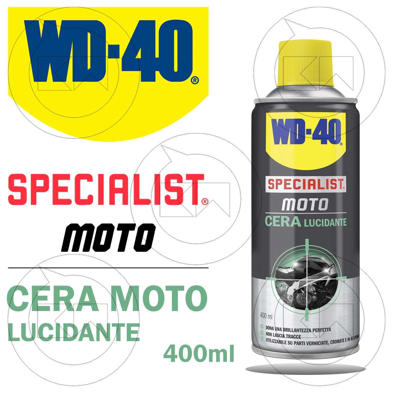 specialist moto wd40 cera lucidante brillante spray per parti cromate 400 ml ebay. Black Bedroom Furniture Sets. Home Design Ideas