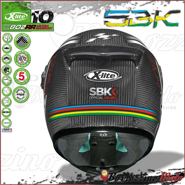 x lite full face helmet x 802rr ultra carbon sbk 010 full. Black Bedroom Furniture Sets. Home Design Ideas