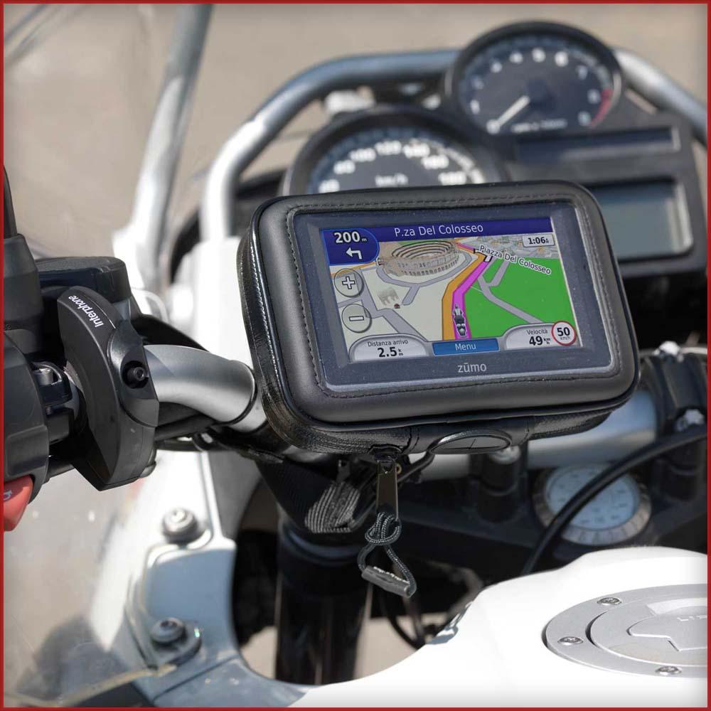 Interphone cellular line sm43 porta navigatore gps - Porta navigatore givi ...
