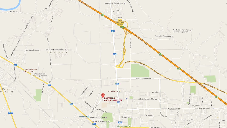 mappa borrozzinomoto