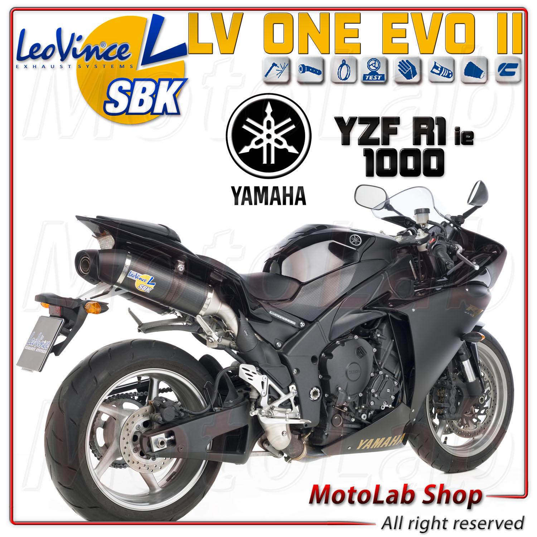silencer exhaust sbk leovince lv one carbon yamaha yzf r1. Black Bedroom Furniture Sets. Home Design Ideas