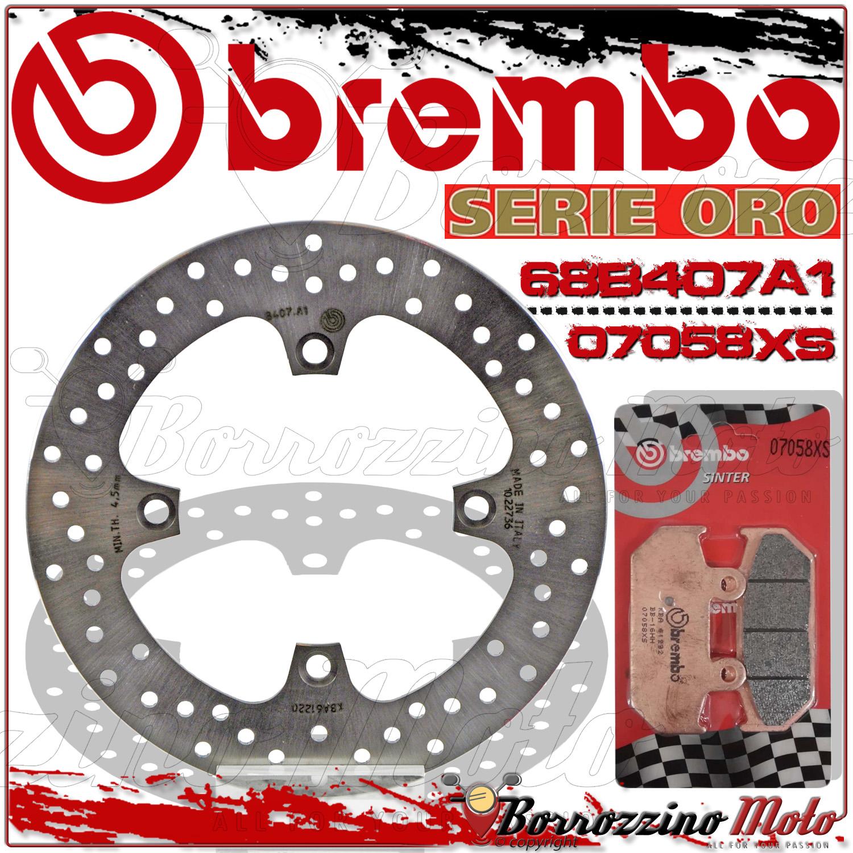 BREMBO SERIE ORO 68B407A2 DISCO FRENO POSTERIORE BURGMAN 650 ANNO 2013