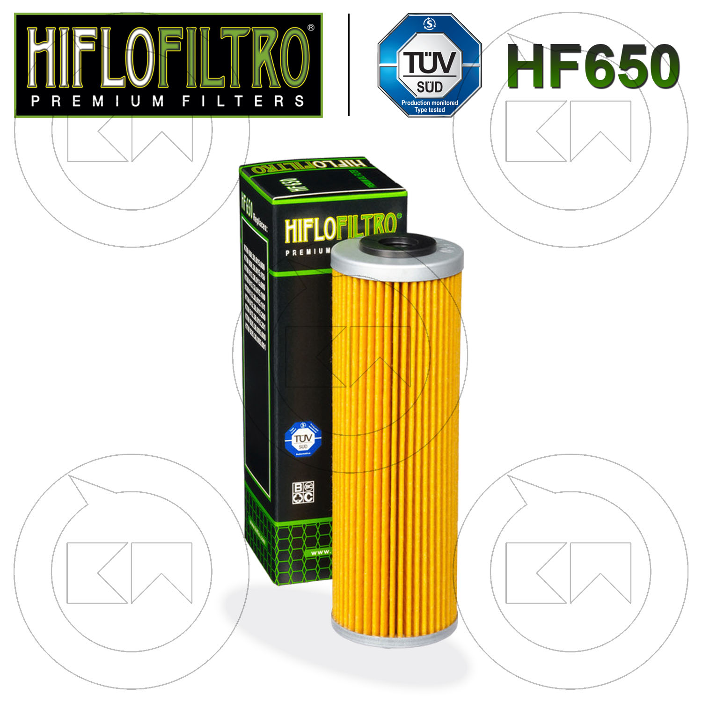 Filtro Olio Hiflo HF158 per KTM Adventure S 950 cc 2004-2006 anni