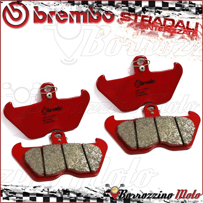 4 FRONT BRAKE PADS BREMBO SA SINTERED FOR BMW R 850 GS 2000 2001 07BB24SA