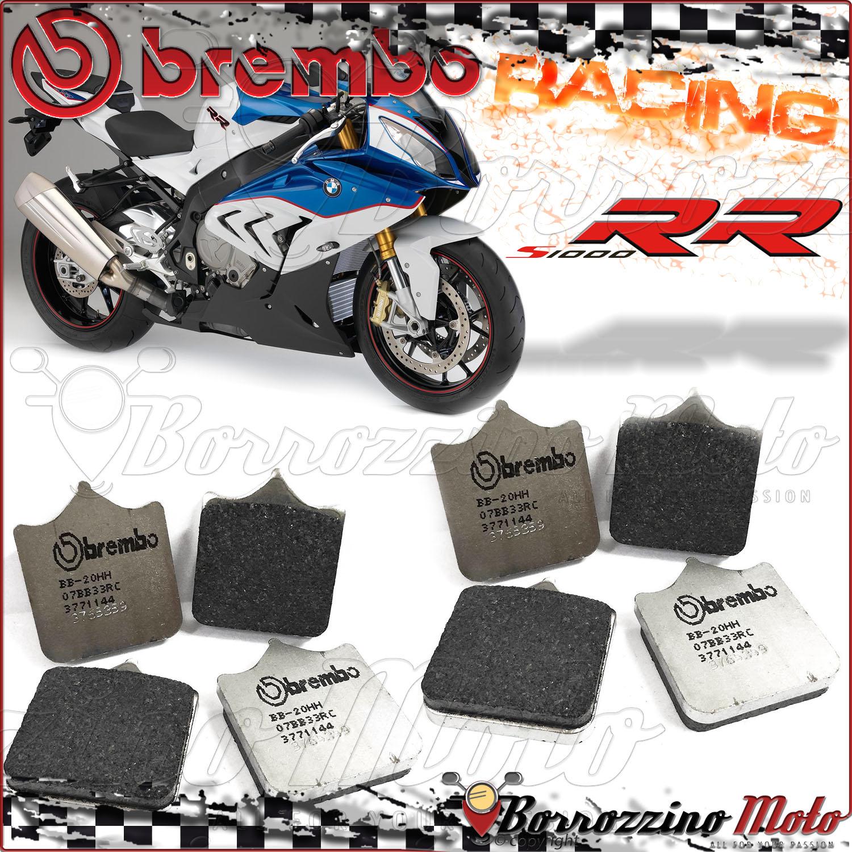 4 brake pads front brembo Carbon Ceramic racing suzuki gsx-r 750 2004