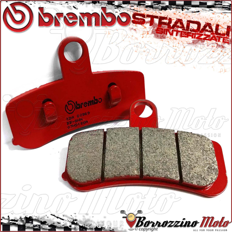 Harley 1690 FLSTC Heritage Softail 2012/> Brembo SA Sintered Front Brake Pads